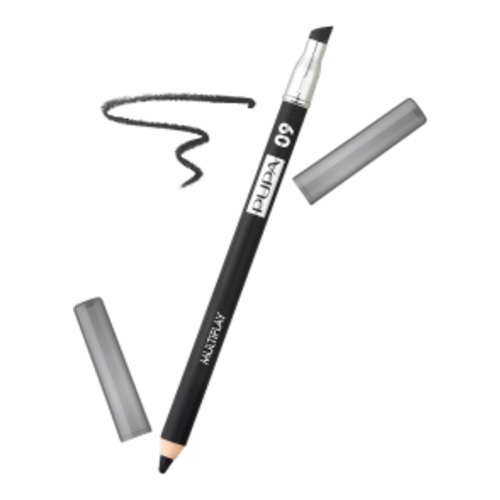 Pupa Multiplay 3 in 1 Eye Pencil - 09 Black, 1 piece