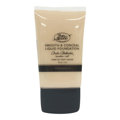 Pure Anada Liquid Foundation Smooth and Conceal - Arctic Alabaster, 30ml/1 fl oz