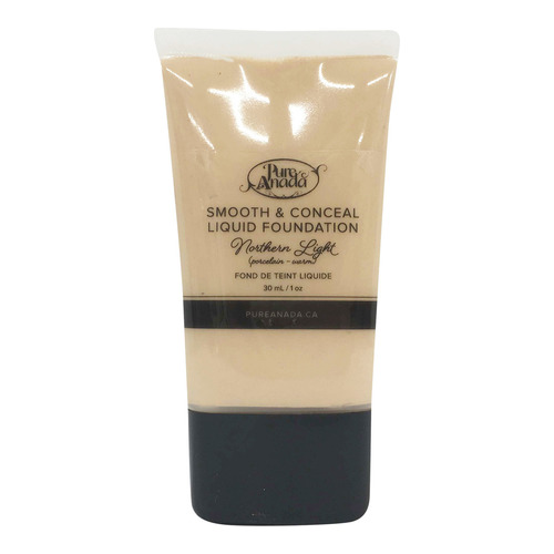 Pure Anada Liquid Foundation Smooth and Conceal - Northern Light, 30ml/1 fl oz