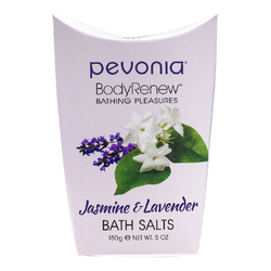 Pevonia Body Renew Jasmine and Lavender Bath Salts, 150g/5 oz