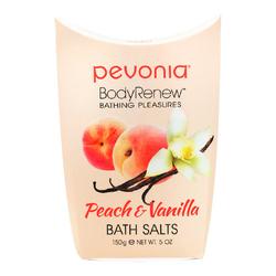 Pevonia Body Renew Peach and Vanilla Bath Salts, 150g/5 oz