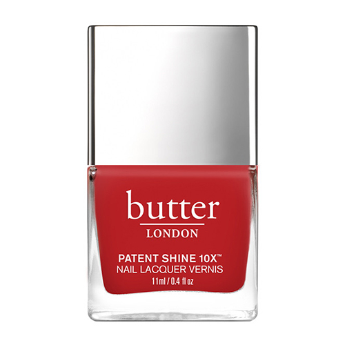 butter LONDON Patent Shine 10x - Come To Bed Red, 11ml/0.4 fl oz