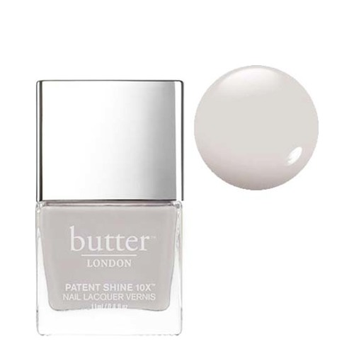 butter LONDON Patent Shine 10x - Sterling, 11ml/0.4 fl oz