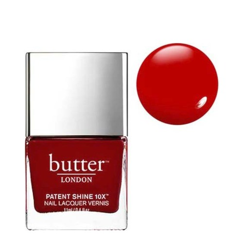 butter LONDON Patent Shine 10x - Regal Red, 11ml/0.4 fl oz