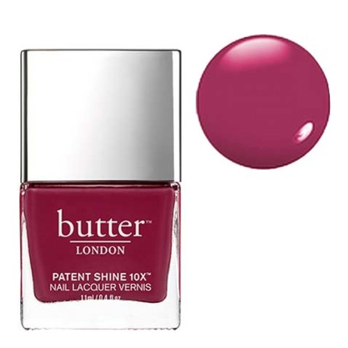 butter LONDON Patent Shine 10x - Broody, 11ml/0.4 fl oz