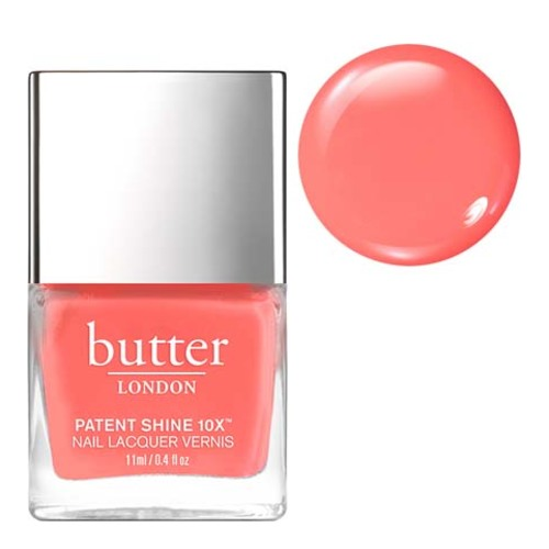 butter LONDON Patent Shine 10x - Trout Pout, 11ml/0.4 fl oz