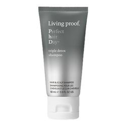 Living Proof PhD Triple Detox Shampoo- Travel Size, 60ml/2 fl oz