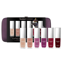 butter LONDON Playing Favorites Nail Polish Set, 1 set