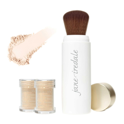 Powder-Me SPF 30 Refillable Brush and 2 Refill Canisters - Translucent