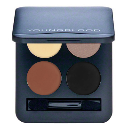 Youngblood Pressed Mineral Eyeshadow Quad - Desert Dreams, 4g/0.14 oz