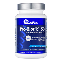 CanPrev Pro-Biotik 15B | 60 V-Caps, 1 piece