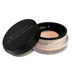 Au Naturale Cosmetics Pure Powder Highlighter - Begonia, 4.5g/0.2 oz