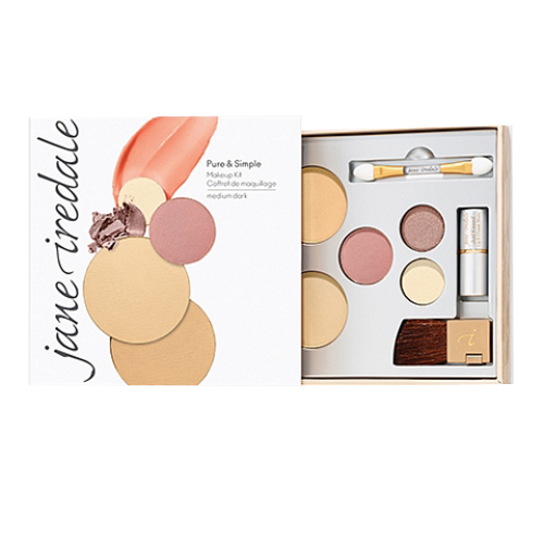 jane iredale Pure and Simple Makeup Kit - Medium Dark, 1 set
