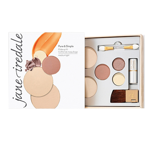 jane iredale Pure and Simple Makeup Kit - Medium Light, 1 set
