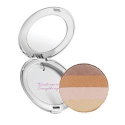 Quad Bronzer with Silver Refillable Compact - Moonglow