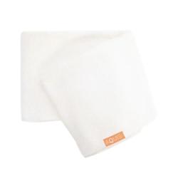 Rapid Dry  Lisse Hair Towel - White