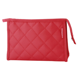 Red Signature Cosmetic Bag