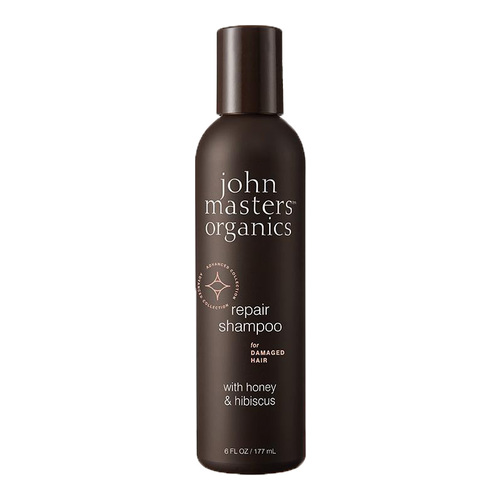 John Masters Organics Repair Shampoo for Damaged Hair with Honey and Hibiscus, 177ml/6 fl oz