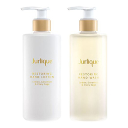 Jurlique Restoring Hand Care Set - Lemon, Clary Sage and Geranium, 2 x 300ml/10.1 fl oz