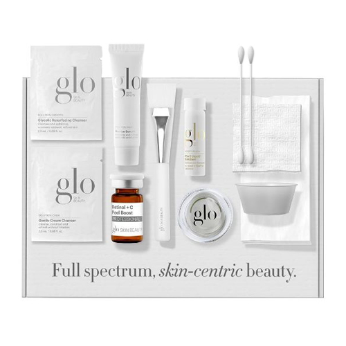 Glo Skin Beauty Retinol + C Smoothing Peel in a Box, 1 set