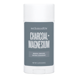 Schmidts Natural Deodorant Stick - Charcoal + Magnesium, 92g/3.25 oz