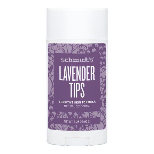 sensitive skin deodorant stick lavender tips schmidts natural eskincarestore. Black Bedroom Furniture Sets. Home Design Ideas