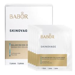 Babor SKINOVAGE Balancing Bio-Cellulose Mask (5 Packs), 1 set