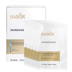 Babor SKINOVAGE Refreshing Eye Pad (5 Packs), 1 set