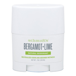 Schmidts Natural Deodorant Stick (Travel Size) - Bergamot + Lime