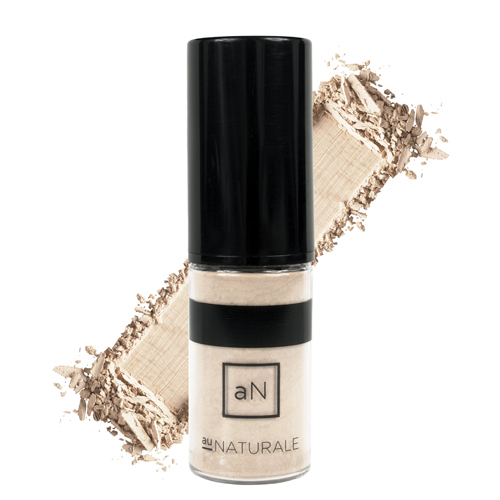 Au Naturale Cosmetics Semi-Matte Powder Foundation - Porcelain, 4g/0.1 oz