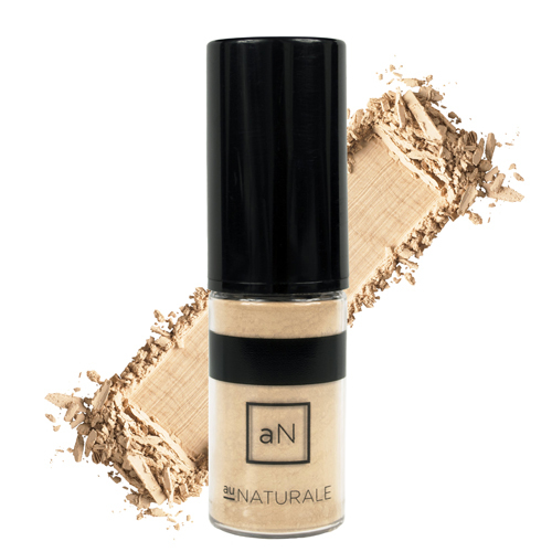 Au Naturale Cosmetics Semi-Matte Powder Foundation - Sand, 4g/0.1 oz