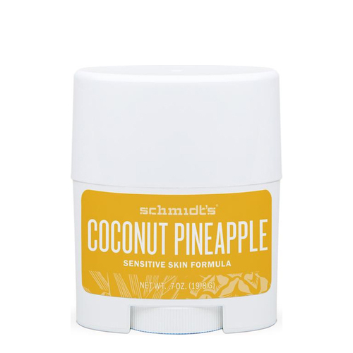 Schmidts Natural Sensitive Skin Deodorant Stick (Travel Size) - Coconut Pineapple, 19.8g/0.7 oz