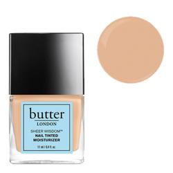 butter LONDON Sheer Wisdom Nail Tinted Moisturizer - Light, 11ml/0.4 fl oz