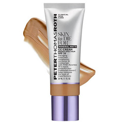 Peter Thomas Roth Skin To Die For  Mineral-Matte CC Cream Broad Spectrum SPF 30 - Tan, 30ml/1 fl oz