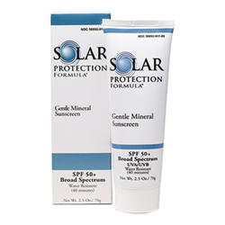 TiZO Solar Protection Formula SPF 58 (Gentle Mineral Sunscreen 50+), 70g/2.5 oz