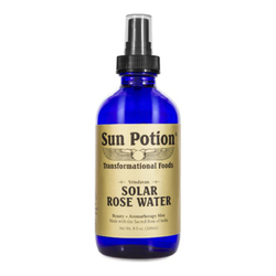 Sun Potion Solar Rose Water, 326ml/8 fl oz