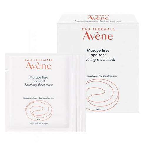 Avene Soothing Sheet Mask, 5 x 19ml/0.6 fl oz