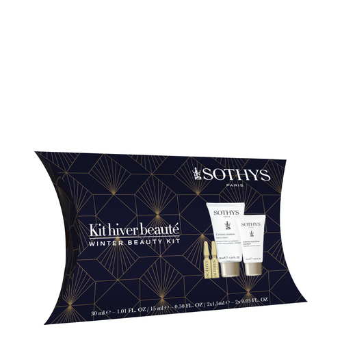 Sothys Winter Beauty Kit, 4 pieces