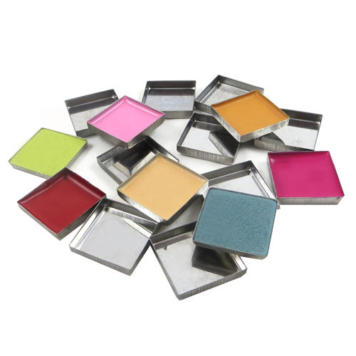Z Palette Square Metal Pans, 10 pieces