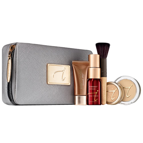 jane iredale Starter Kit - Medium/Light (Warm Sienna), 1 set