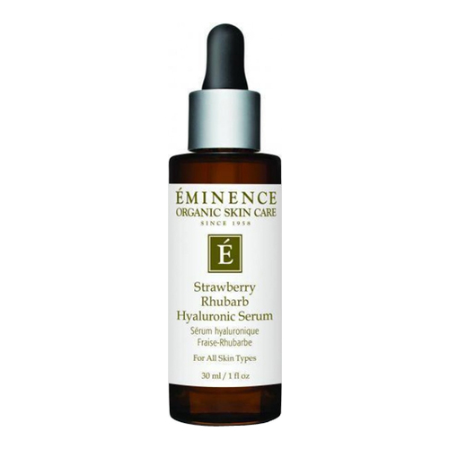 Eminence Organics Strawberry Rhubarb Hyaluronic Serum, 30ml/1 fl oz
