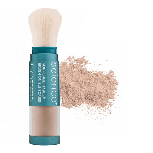 Colorescience Sunforgettable Mineral Sunscreen Brush SPF 50 - Tan, 6g/0.2 oz