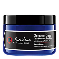 Jack Black Supreme Cream Triple Cushion Shave Lather - Jar, 270g/9.5 oz