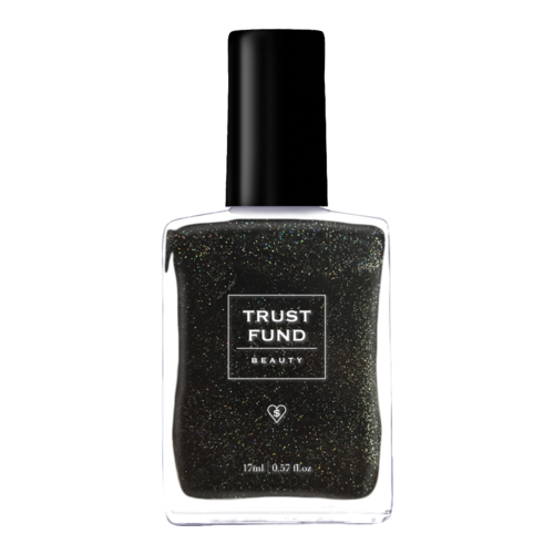 Trust Fund Beauty Nail Polish - Black Heart, 17ml/0.6 fl oz