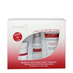 BeautyMed Hyaluronic Acid Dermo Active Treatment Kit, 1 set