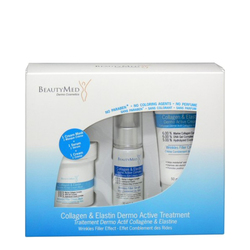BeautyMed Collagen and Elastin Dermo Active Treatment Kit, 1 set
