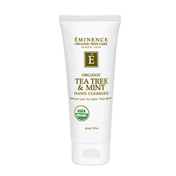 Eminence Organics Tea Tree and Mint Hand Cleanser, 60ml/2 fl oz