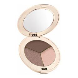 jane iredale PurePressed Eye Shadow Triple - Brown Sugar, 2.8g/0.1 oz