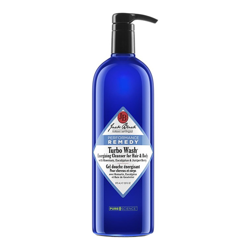 Jack Black Turbo Wash Energizing Cleanser for Hair and Body, 975ml/33 fl oz