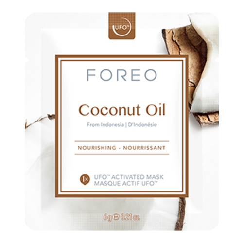 FOREO UFO Activated Mask, Farm-to-Face Collection - Coconut Oil, 6 sheets